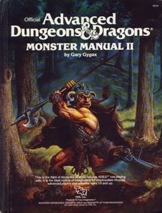 Monster Manual II - First edition Monster Manual II