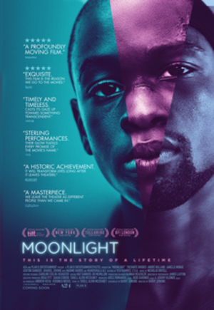 Moonlight (2016 film) - Theatrical release poster