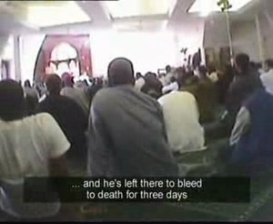 """Undercover Mosque - Undercover Mosque: """"…and he's left there to bleed to death for 3 days"""""""