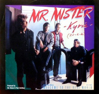 Kyrie (song) - Image: Mr. Mister