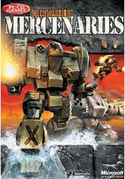 Mechwarrior 4: Mercenaries boxart