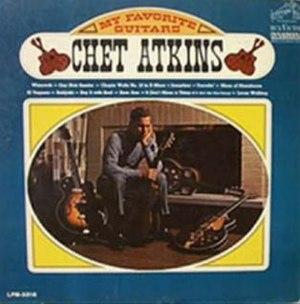 My Favorite Guitars (Chet Atkins album) - Image: My Favorite Guitars