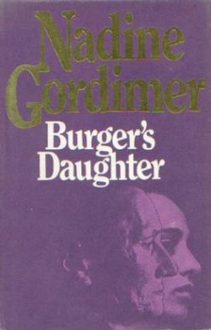 Burger's Daughter - First edition dust jacket (Jonathan Cape, 1979)