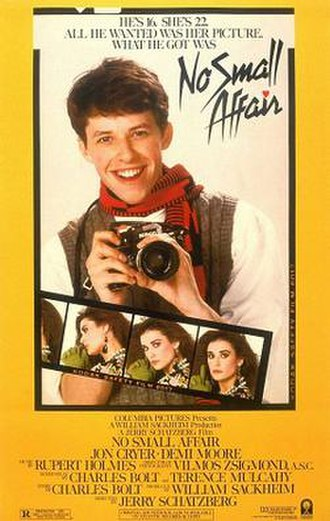No Small Affair - Movie poster