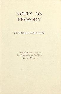 <i>Notes on Prosody</i>