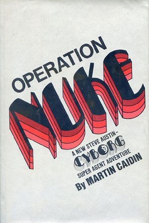 Operation Nuke - 1974 paperback edition tying in with the TV series