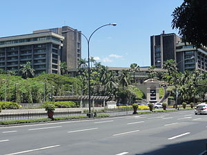 The Peninsula Manila - The Peninsula Manila in 2015