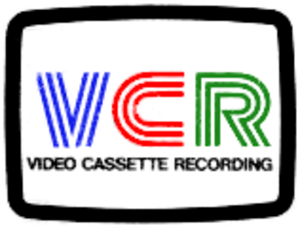 Video Cassette Recording - VCR Logo