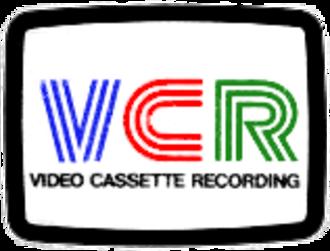 Video Cassette Recording - VCR Logo
