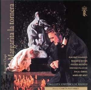 Margarita la tornera - Cover of the 1999 live recording with Plácido Domingo