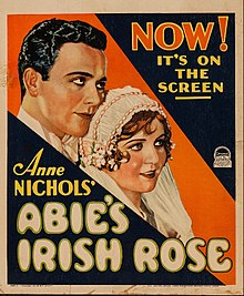 Theatrical release poster for Abie's Irish Rose