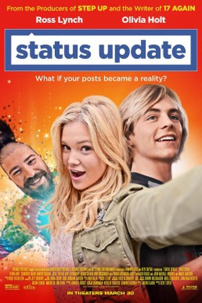 Picture of a movie: Status Update