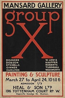 Poster for the Group X exhibition 26 March – 24 April 1920.jpg