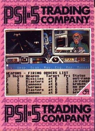 Psi-5 Trading Company - Image: Psi 5 Trading Company cover