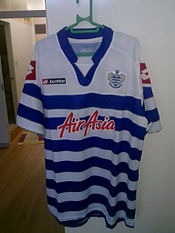 A Typical Queens Park Rangers FC Home Shirt For The 2012 13 Season