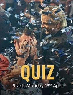 <i>Quiz</i> (TV series) 2020 British television serial