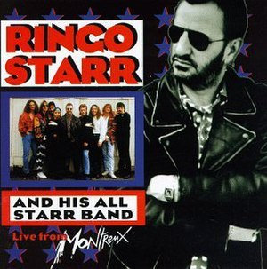 Ringo Starr and His All Starr Band Volume 2: Live from Montreux - Image: RSASB2Cover