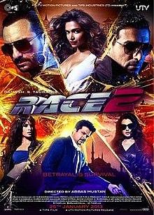 Race 2 (2013) SL DM - Saif Ali Khan, Anil Kapoor, John Abraham, Jacqueline Fernandez, Amisha Patel, Deepika Padukone, Rajesh Khattar, Yannick Ben, Bipasha Basu