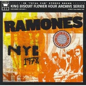 NYC 1978 - Image: Ramones NYC 1978 cover