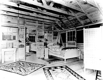 Rapidan Camp - The First Lady's bedroom