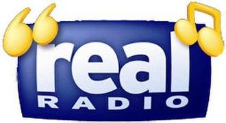 Real Radio - Real Radio logo, 2001–2012