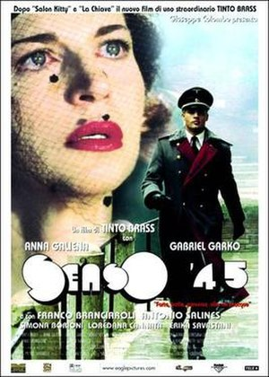Senso (film) - Poster for Tinto Brass' version.