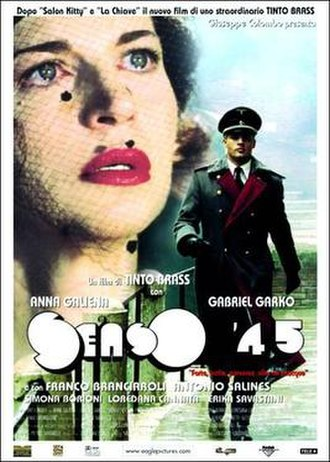 Senso (film) - Poster for the Tinto Brass film
