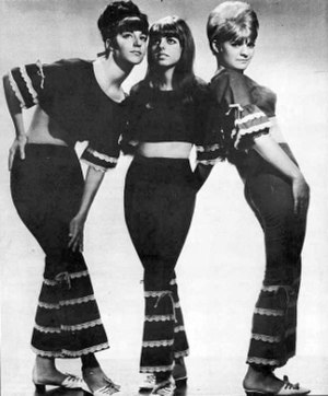 "Reparata and the Delrons - Classic line-up, 1965-1969:  (l-r) Lorraine Mazzola, Nanette Licari, Mary ""Reparata"" Aiese"