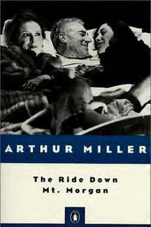 The Ride Down Mt. Morgan - Penguin Books edition with (left to right) Frances Conroy, Patrick Stewart, and Katy Selverstone