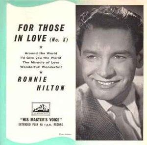 Ronnie Hilton - Image: Ronnie Hilton singer