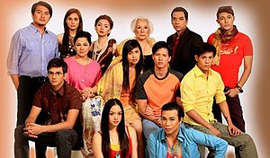 Rosalka - The cast of Rosalka