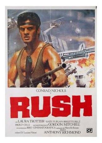Rush (1983 film) - Image: Rush 1980s film poster