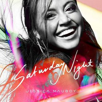 Saturday Night (Jessica Mauboy song) - Image: Saturday Night single cover