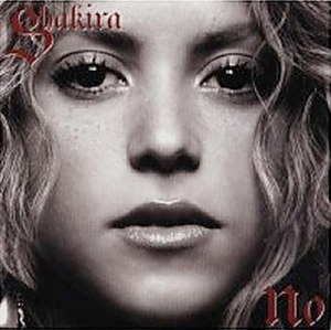 No (Shakira song) - Image: Shakira no cover