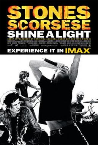 Shine a Light (film) - Theatrical release poster