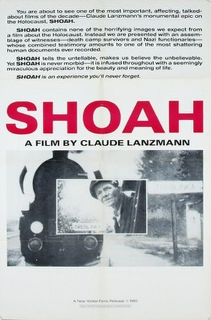 Shoah (film) - US theatrical release poster