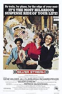 <i>Silver Streak</i> (film) 1976 film directed by Arthur Hiller