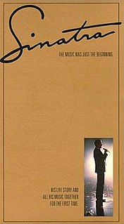 <i>Sinatra</i> (miniseries) 1992 CBS biographical drama miniseries directed by James Steven Sadwith