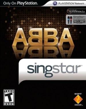 SingStar ABBA - Image: Sing Star ABBA Cover