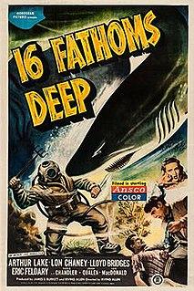 <i>Sixteen Fathoms Deep</i> (1948 film) 1948 American adventure film directed by Irving Allen