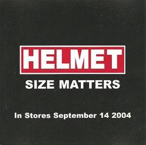 Size Matters - Image: Sizematterspromo