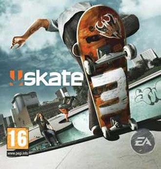 Skate 3 - European box art