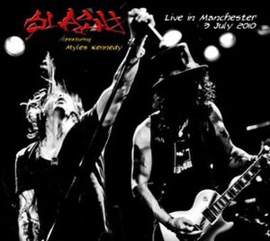 Live in Manchester (Slash album) - Image: Slash Live In Manchester