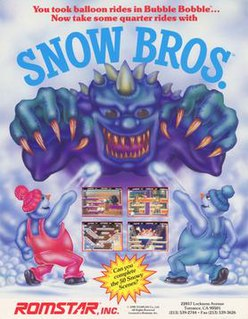 <i>Snow Bros.</i> video game