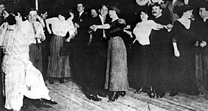 Terrific Street - Dancing couples on the dance floor of Spider Kelly's. San Francisco History Center, San Francisco Public Library