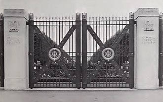 St. Mihiel American Cemetery and Memorial - Image: St Mihiel American Cemetery Entrance Gate
