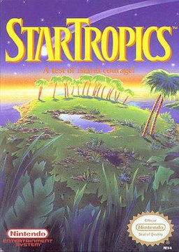 StarTropics box art