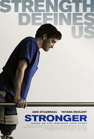 Stronger (film) - Theatrical release poster