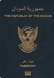 Sudanese passport - Wikipedia