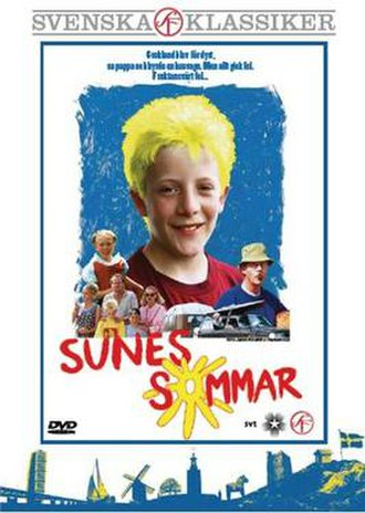 Sune's Summer - Swedish DVD cover